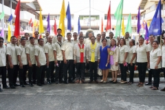 Group Pictures with the Barangay Captains